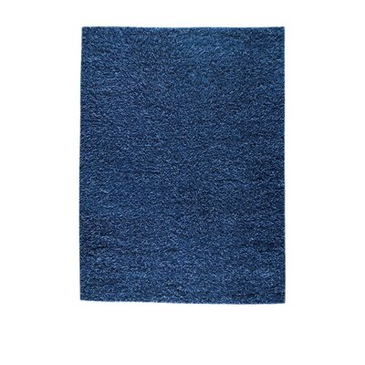 Shanghai Mix Blue Contemporary Rug Rug Size: 66 x 99