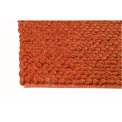 Jammu Rust Area Rug Rug Size: 66 x 99