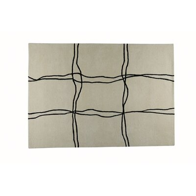 Ticta White Area Rug Rug Size: Rectangle 46 x 66