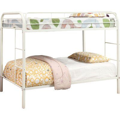 Prism Twin over Twin Bunk Bed Color: White