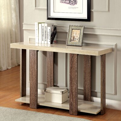 Arnulfo Console Table Color: Light Oak