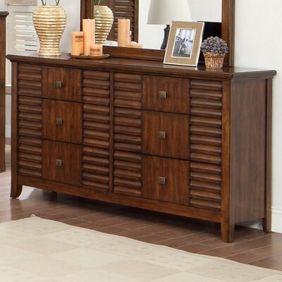Tora 6 Drawer Dresser