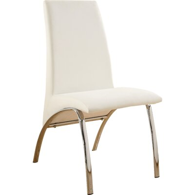 Faust Side Chair Finish: White