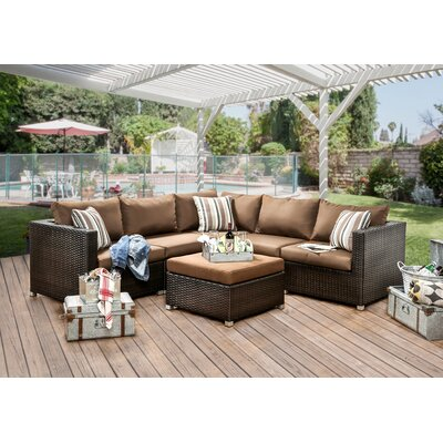 Grasse 9 Piece Seating Group with Cushions