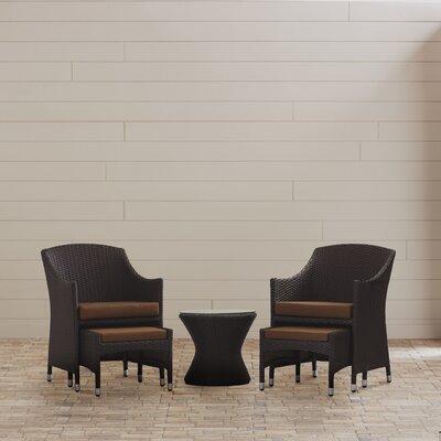 Hagemann 5 Piece Lounge Seating Group