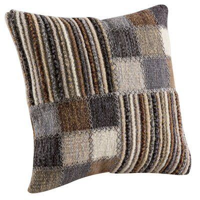 Khema 4 Throw Pillow Size: 16 H x 16 W, Color: Gray