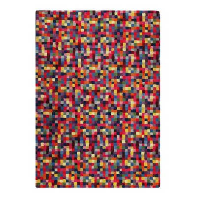 Optima Hand-Tufted Area Rug Rug Size: 83 x 116