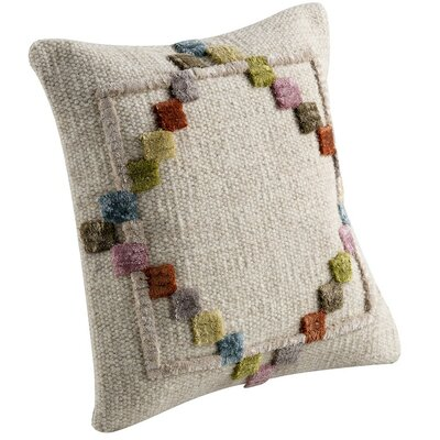 Benita Throw Pillow Size: 16 H x 16 W