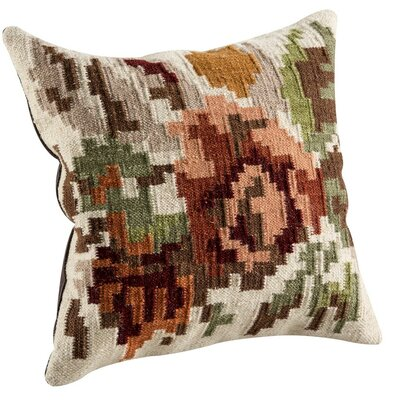 Karba2 Throw Pillow Size: 18 H x 18 W