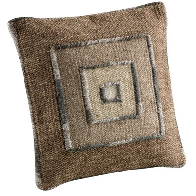 Ermanno Throw Pillow Size: 18 H x 18 W