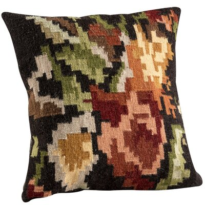 Karba3 Throw Pillow Size: 18 H x 18 W