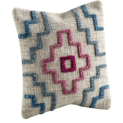 Tiberio Throw Pillow Size: 18 H x 18 W