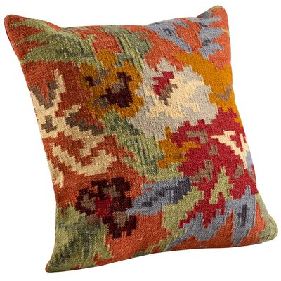 Karba4 Throw Pillow Size: 18 H x 18 W