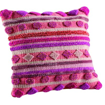 Elda Throw Pillow Size: 18 H x 18 W