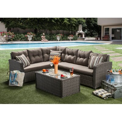 Stylish Sectional Seating Group Cushion Product Photo