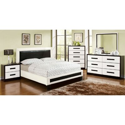 Verzaci Platform Customizable Bedroom Set
