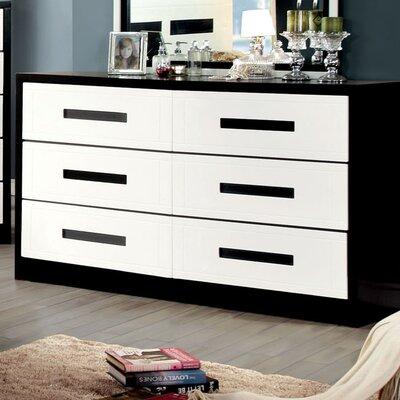 Verzaci 6 Drawer Dresser
