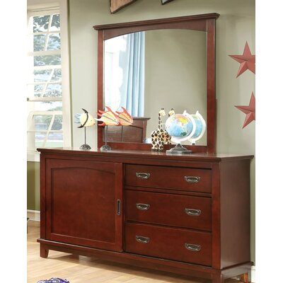 Kenneth 3 Drawer Combo Dresser Color: Cherry