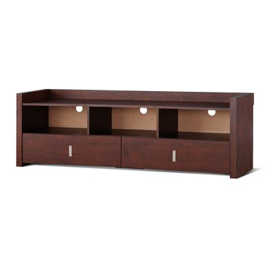 Pettry 20.5 TV Stand Color: Vintage Walnut