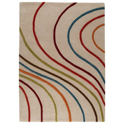 Lake Placid Hand-Tufted Area Rug Rug Size: 83 x 116