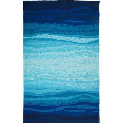 Vista Hand-Tufted Blue/Turquoise Indoor/Outdoor Area Rug Rug Size: 2 x 3