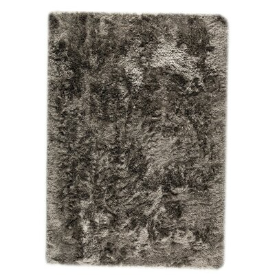 Dubai Hand-Woven Silver Area Rug Rug Size: Rectangle 83 x 116