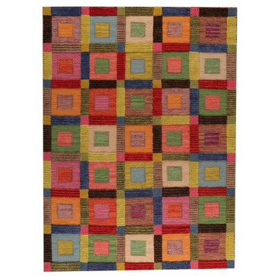 Big Box Hand-Woven Area Rug Rug Size: 83 x 116