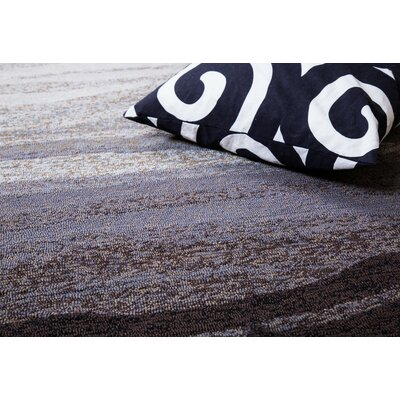 Vista Hand-Tufted Gray Indoor/Outdoor Area Rug Rug Size: 5 x 8