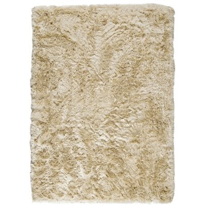 Dubai Hand-Woven Vanilla Area Rug Rug Size: Rectangle 83 x 116