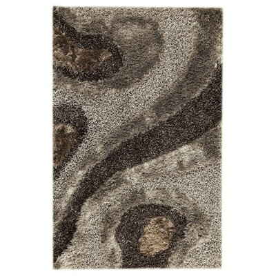 Dunes Hand-Tufted Gray Area Rug Rug Size: 7'10