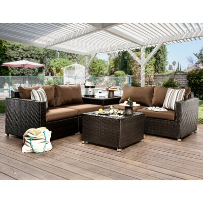 Edine 8 Piece Seating Group with Cushions