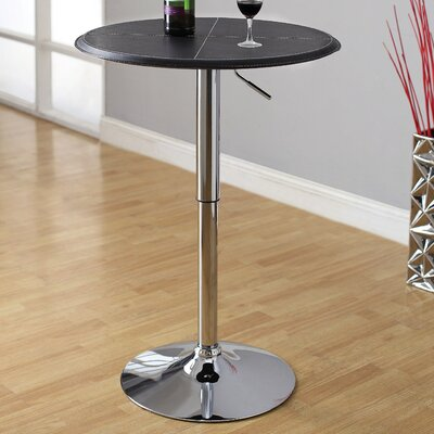 Citizen Leatherette Adjustable Pub Table
