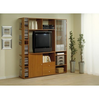 Entertainment Center Color: Light Cherry