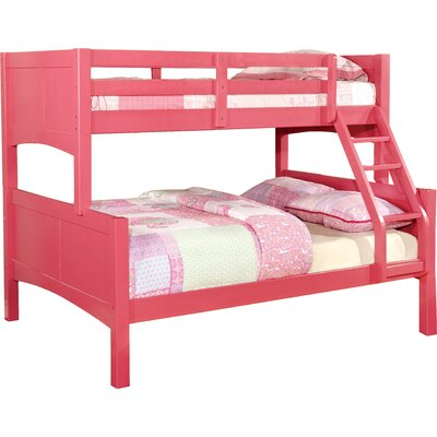 Spectrum Twin over Full Bunk Bed Finish: Raspberry Pink