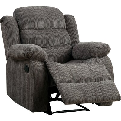 Fergstein Recliner Upholstery: Gray