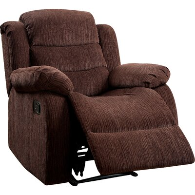 Fergstein Recliner Upholstery: Brown
