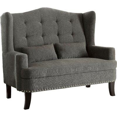 Tovar Loveseat Upholstery: Gray