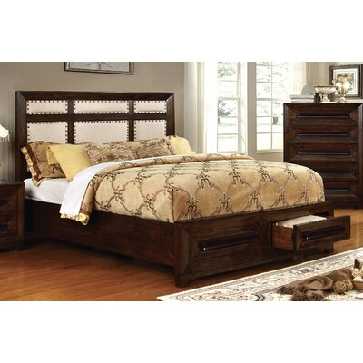 Vineland Upholstered Storage Platform Bed