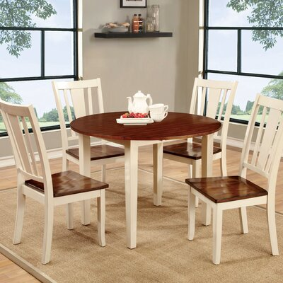 Althea Dining Table Base Finish: White