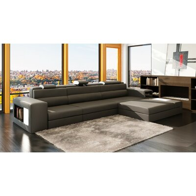 Ashley Esmarelda Sectional Upholstery: Gray