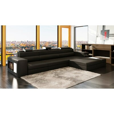 Ashley Esmarelda Sectional Upholstery: Black