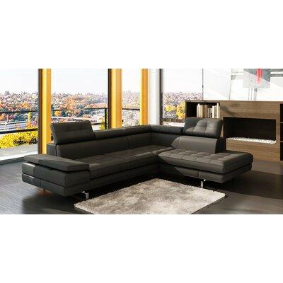 Seville Sectional Upholstery: Gray
