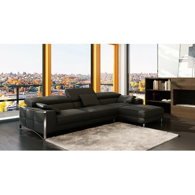Soho Sectional Upholstery: Black