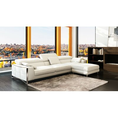 Soho Sectional Upholstery: White