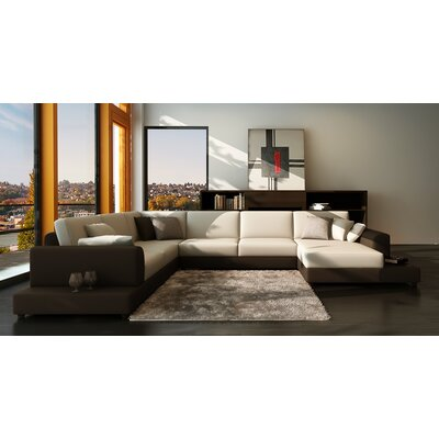 Baxton Modular Sectional