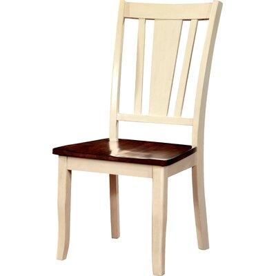 Carolina Side Chair Finish: Cream White / Cherry