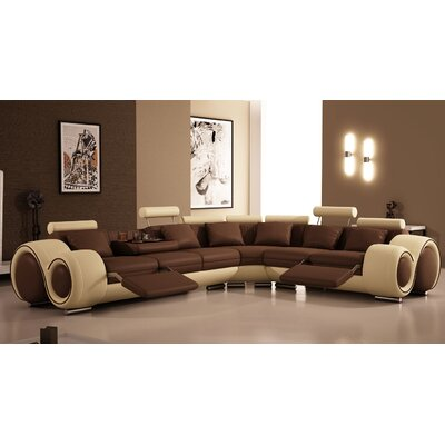 Hokku Designs NG5198-CSCF Hematite Sectional