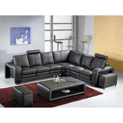 Hokku Designs NG4441-CL Bremen Sectional