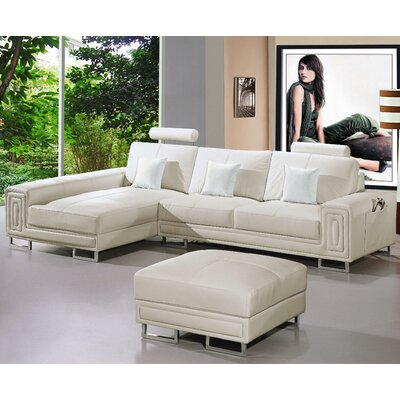 Hokku Designs NG3376-Xijuf Martini Sectional Upholstery