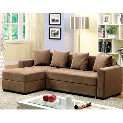 Hokku Designs JEG-7434-TFD Sleeper Sectional